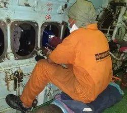 Daihatsu 5DK-20 Aux Engine Crankshaft Repair