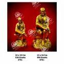 Golden Sai Baba God Statue