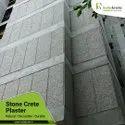 Exterior  Stone Crete Plaster