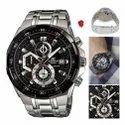 Edifice Casio Chrono Working Wrist Watch