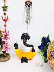 Nirmala Handicrafts Exporters Modern Resin Ganesha Statue - 20cm