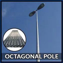 11 Mtr Octagonal Poles