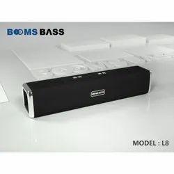 Booms Bass L8 Bluetooth Speaker