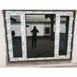 UPVC Glass Casement Window
