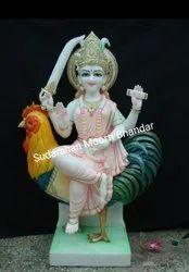 Marble Bauchar Maa Statue