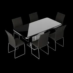 Neo Apple 6 Seater Dining Table Set
