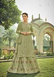 Designer Heavy Unstitched Dress Materials