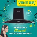 Crysta Music 90 Musical Smart Auto Clean Chimney