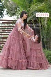 Embroidered Indo Western Designer Gown