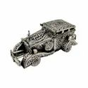 Silver Plated Carving Work Car For Home Decoration & Corporate Gift