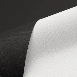 White Black Back Fabric 200 GSM For Solvent/ Eco-solvent
