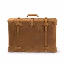 Leather Suitcase, For Daily