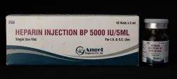 Heparin Injection BP 25000IU