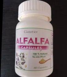 Alfalfa Capsules, Non prescription, Grade Standard: Food Grade
