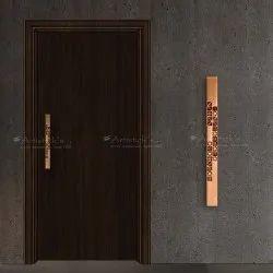 Copper Door Handle Design