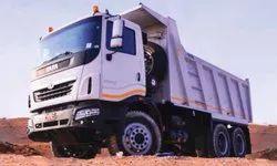 Tipper Truck Rental Service
