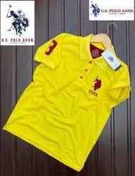 Men US Polo T Shirt