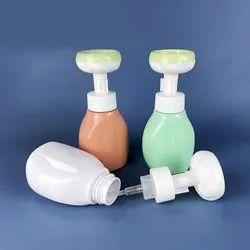 300ml PET Food Grade Plastic Flat Foam Bottle Flower Foam Pump