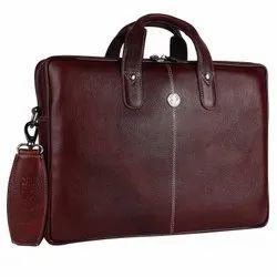 Hammonds Flycatcher Genuine Leather 15.6 inch Laptop Messenger Bag-LB106_NP_BR