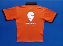 Swiggy collar t shirts