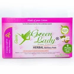 Green Lady Classic Cloth Herbal Napkins