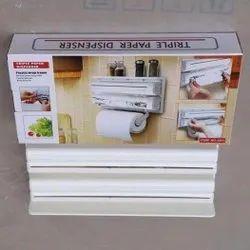 Triple Paper Roll Dispenser
