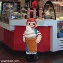 Boy With Ice Cream Cone
