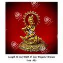 Golden Lord Krishan God Statue