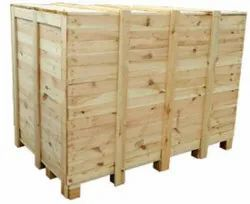 Rubber Wood Rectangular Wooden Packaging Box, Size(LXWXH)(Inches): 90 X 60 X 60inch (l X W X H)