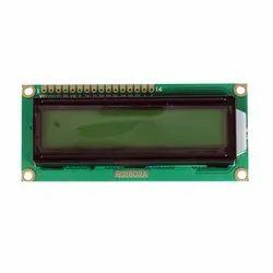 RG1602 Character LCD Display White
