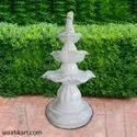 Flower Petal Step Fountain