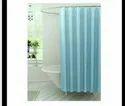 BLUE COLOR PVC SHOWER CURTAIN