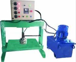 Semi Automatic Paper Thali Making Machine