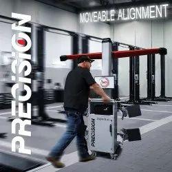Precision Superb AD 360 Mobile 3D Wheel Alignment Machine