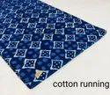 Indigo Dabu Printed Cotton Fabric