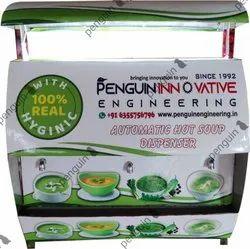 Automatic Instant Soup Vending Machine