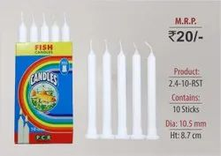 Ribbed Stand Candles 2.4-10-RST