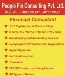 Professional Income Tax Returns (ITR) and TDS Filling, in Pan India, Company