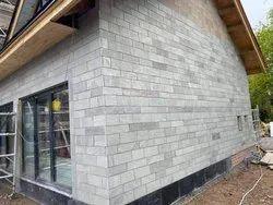 Kandla Grey Sandstone Tiles for Outdoor Wall Cladding