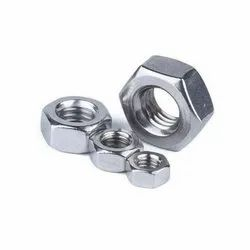 NAF Stainless Steel SS Hexagonal Nut, Thickness: Standard, Size: 4mm To 64mm