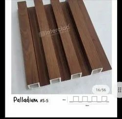 Imported Stationary Louver WPC Louvers, For Indoor Walls And Ceilings, Capacity: 10,000