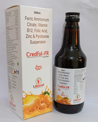 Ferric Ammonium Citrate, Vitamin B12, Folic Acid, Zinc And Pyridoxine Suspension