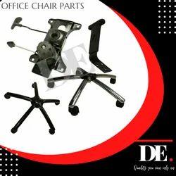 DE Black Office Revolving Chair Parts