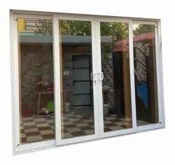 UPVC Sliding Doors, For Hotel,Home, Glass Thickness: 6 Mm