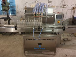 Automatic continental sauce filling machine