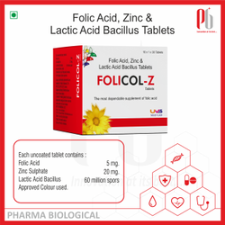 Folicol-Z Tablets