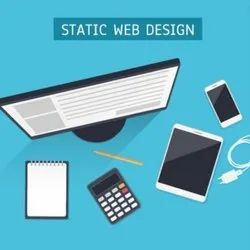 PHP/JavaScript,HTML5/CSS Static Website Designing Service, With Chat Support