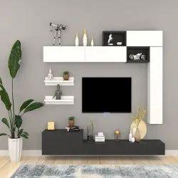 Ergoflex Pre Lam Particle Board Apollonio Wall Mounted Wooden TV Unit
