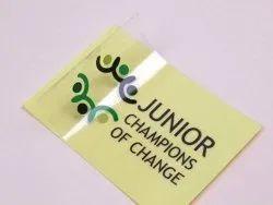 18 Micron Vinyl Adhesive Stickers