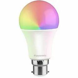 7 W IS 16102 (Part 1),R-8300445 Panasonic RGB Color LED Bulb, Shape: Round